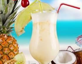 Коктейль пина колада – экзотический напиток для взрослых и детей фото