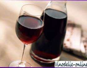 Красное сухое вино фото