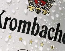 Кромбахер — премиальное пиво из германии фото