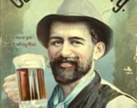 Кто придумал пиво, история пива фото