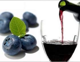 Лесное вино из черники в домашних условиях фото