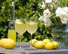 Лимончелло на водке фото