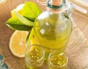 Лимонная настойка на водке фото