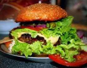 Макдоналду не по зубам — рецепт настоящего гамбургера с говядиной фото