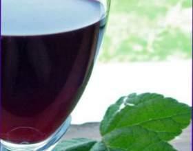 Малиново-смородиновое вино фото