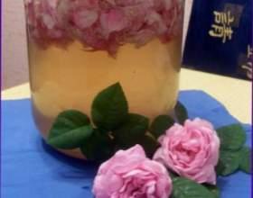 Наливка из роз фото