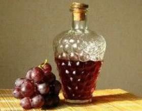 Наливка из винограда в домашних условиях фото
