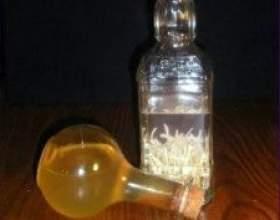 Настойка чеснока на водке фото