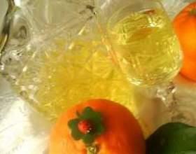Настойка на апельсиновых корках фото
