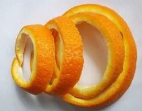 Настойка на основе апельсиновых корок фото