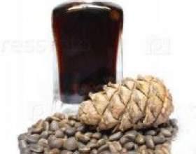 Настойка на скорлупе кедровых орехов фото