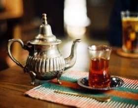 Не совсем обычный, но вкусный чай фото