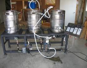 Недорогая самодельная домашняя пивоварня фото