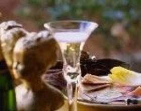О выборе закусок к шампанскому фото