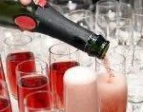 Особенности розового шампанского фото