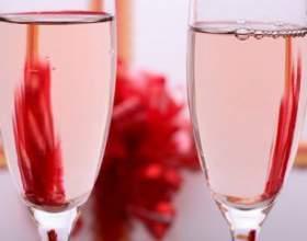 Первое розовое шампанское фото