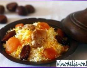 Плов с сушеными фруктами (по-армянски) фото