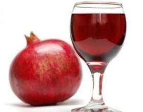 Полезное вино из граната фото