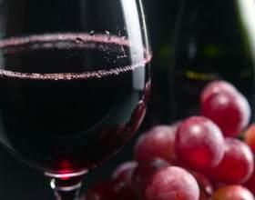 Польза красного вина фото