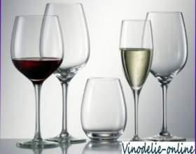 Посуда и подача вина фото