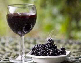 Прекрасное вино из ежевики в домашних условиях фото