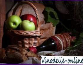 Рецепт домашнего вина из яблок фото