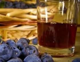 Рецепт домашнего вина из терна фото