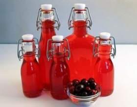 Рецепт настойки на клюкве. Клюквенная настойка на самогоне, водке или спирту фото