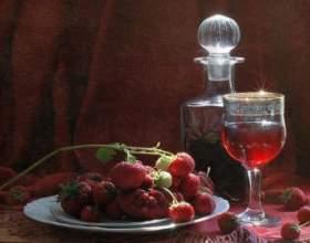Рецепт земляничного вина фото