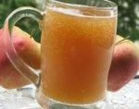 Рецепты домашнего яблочного кваса фото