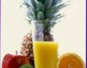 Рецепты фруктовых коктейлей фото