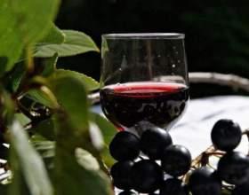 Русская настойка из черноплодной рябины на водке фото