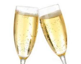 С чем пьют шампанское фото