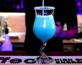 Секреты коктейля «голубая лагунфото