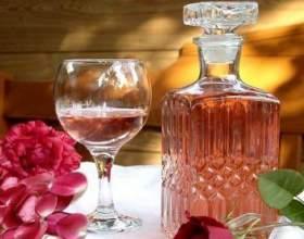 Шампанское из чайной розы фото