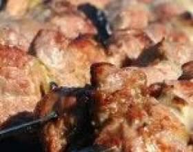 Шашлык из свинины в пиве фото