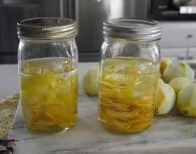 Сладкие лимонные наливки на водке фото