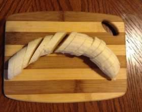 Смузи с бананом и сухофруктами фото