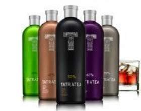 Tatratea — оригинальный чайный ликер фото