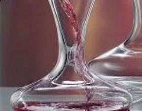Технология правильной декантации вин фото