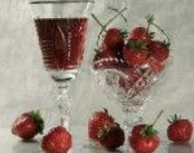 Технология приготовления домашнего клубничного вина фото