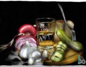 Учимся правильно пить и закусывать водку фото
