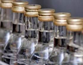 В украине сократились объемы производства водки фото