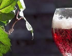 Великолепное вино «ламбруско» красное полусладкое игристое фото