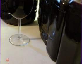 Вино из аронии фото