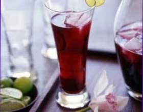 Вино из цветков бузины фото