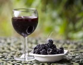 Вино из ежевики в домашних условиях простой рецепт фото