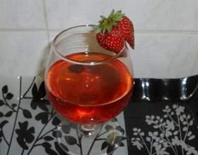 Вино из клубники фото