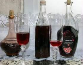 Вино из варенья фото