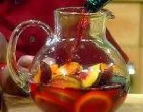 Вино сангрия – вкусный освежающий напиток из испании фото